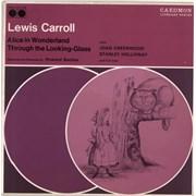 Lewis Carroll Alice In Wonderland / Alice Through The Looking Glass UK 2-LP vinyl set
