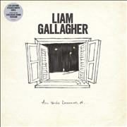 Click here for more info about 'Liam Gallagher - All You're Dreaming Of - White Vinyl Etched - Sealed'