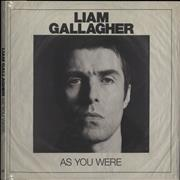 Liam Gallagher As You Were - Deluxe Edition + Sealed UK vinyl LP