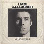 Liam Gallagher As You Were - Deluxe Edition UK vinyl LP