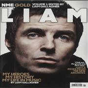 Liam Gallagher NME Gold Volume 1 Edited by Liam Gallagher UK magazine