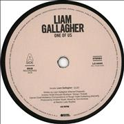 "Liam Gallagher One Of Us UK 7"" vinyl"