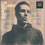 Liam Gallagher Why Me? Why Not - 140gram Vinyl - Sealed UK vinyl LP
