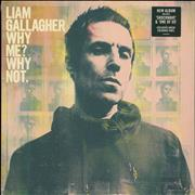Click here for more info about 'Liam Gallagher - Why Me? Why Not - Green Vinyl'