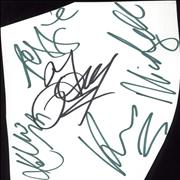 Click here for more info about 'Liberty X - Full Set of Autographs'