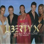 Click here for more info about 'Liberty X - Got To Have Your Love - CD2'