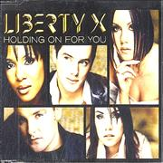 Click here for more info about 'Liberty X - Holding On For You'