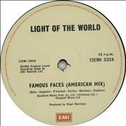 Click here for more info about 'Light Of The World - Famous Faces'
