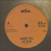 Click here for more info about 'Lily Allen - Alright Still'