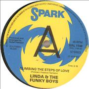 Click here for more info about 'Linda & The Funky Boys - Climbing The Steps Of Love - A-Label'