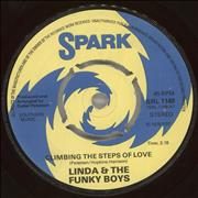 Click here for more info about 'Linda & The Funky Boys - Climbing The Steps Of Love'