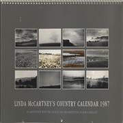 Click here for more info about 'Linda McCartney - Linda McCartney's Country Calendar 1987'