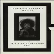 Click here for more info about 'Linda McCartney - Linda McCartney's Sixties Postcard Calendar 1993'