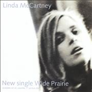 Linda McCartney Wide Prairie UK display Promo
