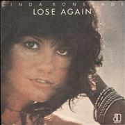 Click here for more info about 'Linda Ronstadt - Lose Again + p/s'