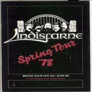 Click here for more info about 'Lindisfarne - Spring Tour '78'