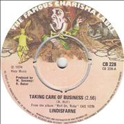 Click here for more info about 'Lindisfarne - Taking Care Of Business'
