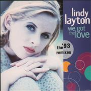 Click here for more info about 'Lindy Layton - We Got The Love (The '93 Remixes)'