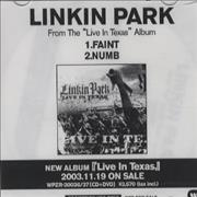 Click here for more info about 'Linkin Park - Faint/Numb'