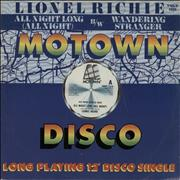 Click here for more info about 'Lionel Richie - All Night Long - Title sleeve'