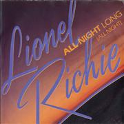 Click here for more info about 'Lionel Richie - All Night Long (All Night) - 4pr - P/S'