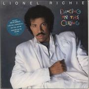 Click here for more info about 'Lionel Richie - Dancing On The Ceiling - Blue Sticker'