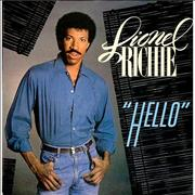 Click here for more info about 'Lionel Richie - Hello - 4pr - P/S'