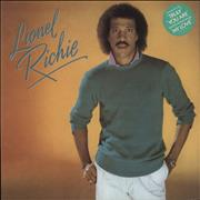 Click here for more info about 'Lionel Richie - Lionel Richie - Green Stickered Sleeve'