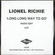 Click here for more info about 'Lionel Richie - Long Long Way To Go'