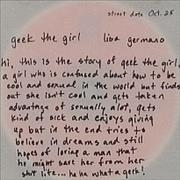 Click here for more info about 'Lisa Germano - Geek The Girl'