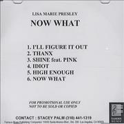 Click here for more info about 'Lisa Marie Presley - Selections From 'Now What''