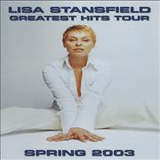 Click here for more info about 'Lisa Stansfield - Greatest Hits Tour - Spring 2003 Tour itinerary'