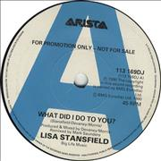 Click here for more info about 'Lisa Stansfield - What Did I Do To You?'