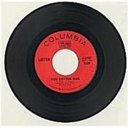 """Listen (60s) You Better Run USA 7"""" vinyl"""