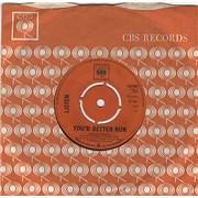 """Listen (60s) You'd Better Run UK 7"""" vinyl"""