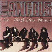 Click here for more info about 'Little Angels - Too Much Too Young - Gatefold'