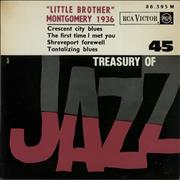 Click here for more info about 'Little Brother Montgomery - Treasury Of Jazz No. 45'