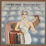 Click here for more info about 'Little Feat - Dixie Chicken - Cream Label'