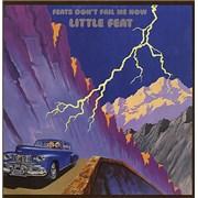 Little Feat Feats Don't Fail Me Now USA vinyl LP