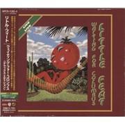 Little Feat Waiting For Columbus Japan 2-CD album set Promo