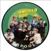 """Liverpool FC Anfield Rap UK 7"""" picture disc"""