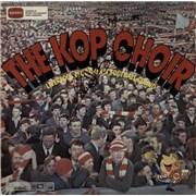 Liverpool FC The Kop Choir - Autographed UK vinyl LP