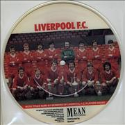 """Liverpool FC We're Never Gonna Stop UK 7"""" picture disc"""
