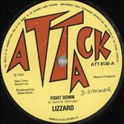 "Lizzard Fight Down UK 7"" vinyl"