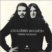 Click here for more info about 'Lon & Derrek Van Eaton - Warm Woman - Sleeve Only'