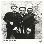 Click here for more info about 'Londonbeat - Publicity Photographs'