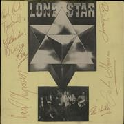 Click here for more info about 'Lone Star - Full Set Of Autographs On Card'