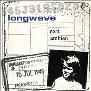 Click here for more info about 'Longwave - Exit - White Vinyl'