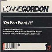 Click here for more info about 'Lonnie Gordon - Do You Want It'