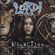 Click here for more info about 'Lordi - Killection (A Fictional Compilation Album) - Turquoise vinyl'